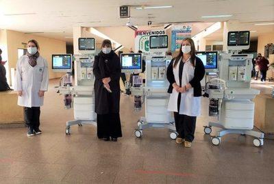 Itaipu entregó equipos de alta tecnología a cinco hospitales especializados de Asunción y Central