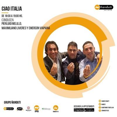Ciao Italia con Emerson Viapiana, Pierluigi Melillo y Maximiliano Livieres