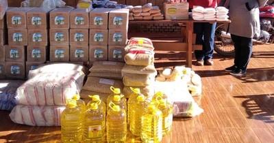 Entregan víveres a comedores comunitarios de distintos puntos del país