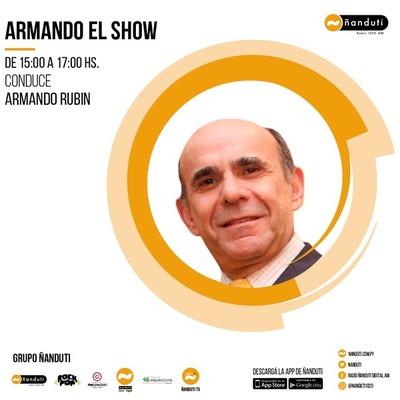 Armando el show con la conducción de Armando Rubin