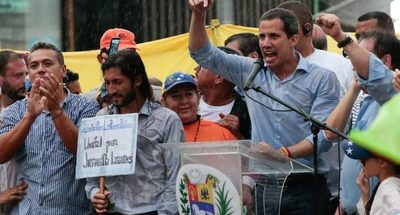 Guaidó llama a la rebeldía y a una segunda independencia en Venezuela