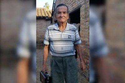 Ypacaraí: Familia busca desesperadamente a abuelito que despareció