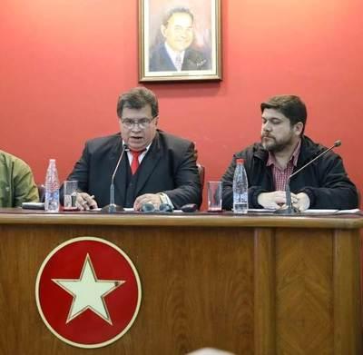 Consejo de Presidentes de Seccionales de la ANR anuncia caravana en apoyo al presidente Mario Abdo