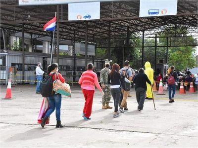 Itapúa: 80 connacionales ingresaron el domingo desde la Argentina
