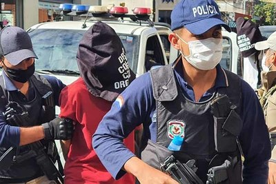Armas incautadas de uso militar tenían como destino a Brasil