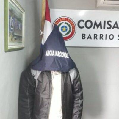 Ladrón domiciliario detenido en persecución cuenta con pedido de prisión preventiva