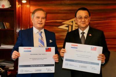 Reciben fondos del Gobierno taiwanés para construir 600 viviendas en MRA