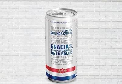 Lanzan edición limitada de cerveza en homenaje y apoyo al personal de salud