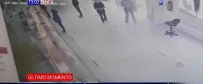 Violento asalto en Capiatá
