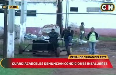 Guardiacárceles denuncian condiciones insalubres en penal de Ciudad del Este