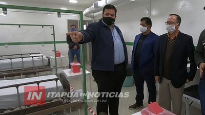 AUTORIDADES DE CAAZAPÁ QUIEREN IMITAR EXPERIENCIA DEL HOSPITAL DE FRAM.