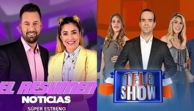 """""""El Resumen Noticias"""" y """"TeleShow"""" llegan a """"Telefuturo"""""""