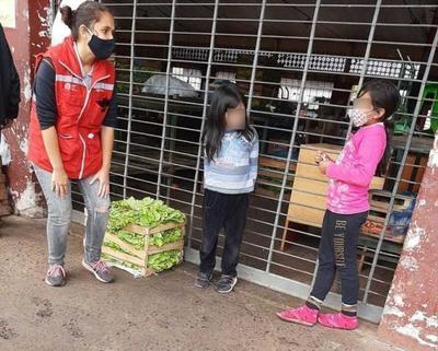 Abordaje en calle de la última semana llegó a más de 100 niñas, niños y adolescentes
