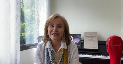 Berta Rojas invita a su casa, con música y reflexiones