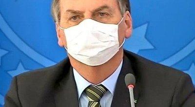 Bolsonaro con síntomas de covid-19