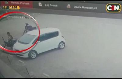 J. Augusto Saldívar: Cuatro detenidos por asalto a conocido local de ventas de pollos