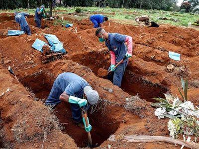 Brasil sobrepasa los 65.000 fallecidos por Covid-19, con 620 el último día