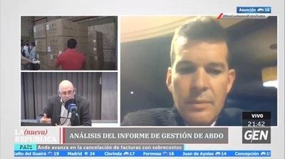 """HOY / """"No se puede negar es que hubo un intento de robo y estafa al Estado"""" manifestó el senador Sergio Godoy, con respecto a las compras de insumos sanitarios"""