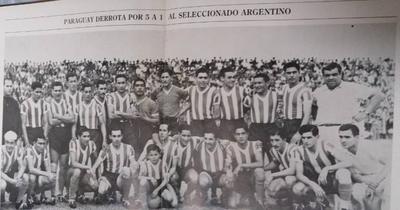 HOY / La mayor goleada de Paraguay sobre Argentina
