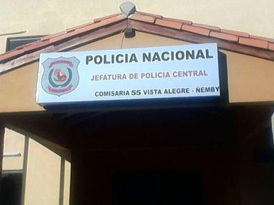 Detenidos de la Comisaría 55 de Ñemby protestan contra el hacinamiento