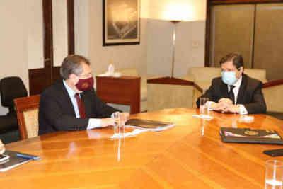 Reunión para reforzar la seguridad de magistrados de Luque