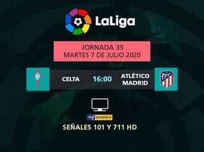 Celta va por la salvación y Atlético Madrid por la Champions