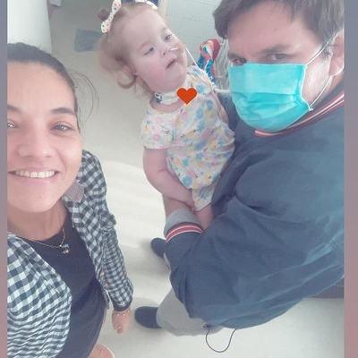 Beba con atrofia muscular necesita de la ayuda ciudadana para continuar con su tratamiento