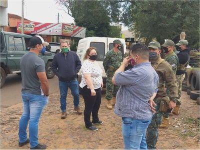 Tensión entre comerciantes de PJC y militares en línea internacional