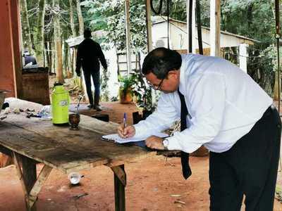 Minga Guazú: DINAC recupera propiedad invadida en el año 2007