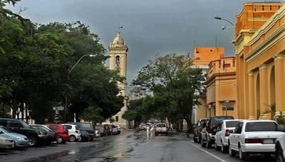 Emiten alerta por tormentas para 4 Departamentos