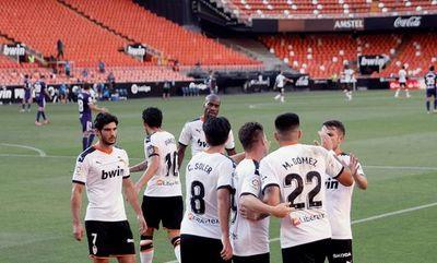 Valencia sigue luchando por Europa