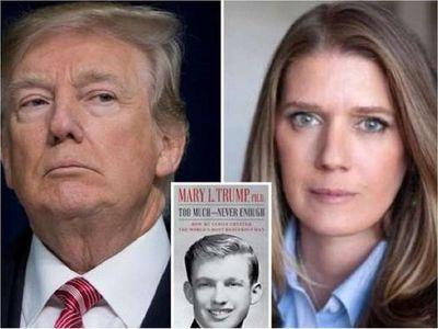 Sobrina de Trump lo describe como narcisista traumatizado por su padre