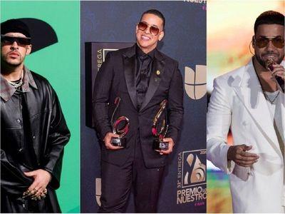 Bad Bunny, Romeo Santos y Daddy Yankee reciben los premios latinos de Ascap