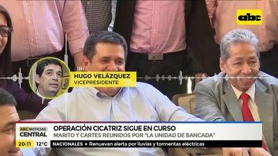 """Cartes y Marito por """"la unidad de la bancada"""""""