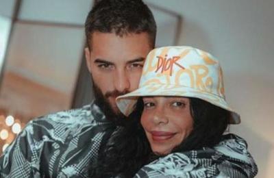 La acalorada foto de Maluma y su tía de la que todos hablan