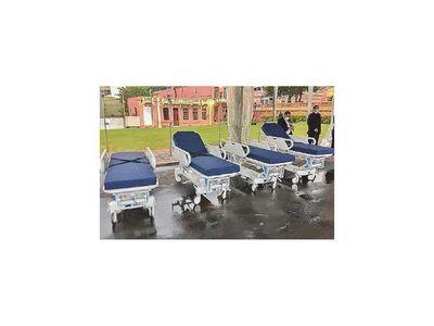 Cooperativistas donan 120 camas hospitalarias a Salud