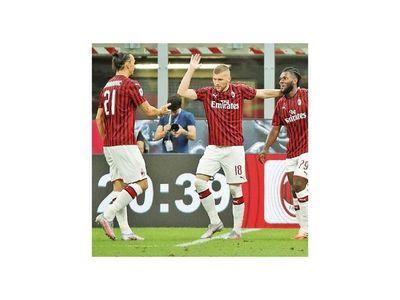 Milan  se lo da vuelta a la Juve y el Calcio sigue vivo