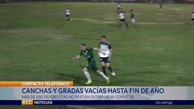 SIN COMPETICIONES DEPORTIVAS EN EL CHACO HASTA FIN DE AÑO