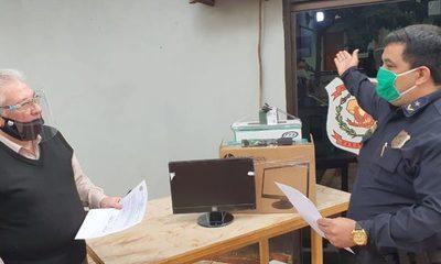 Entregan equipos informáticos a dependencias policiales en Franco