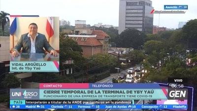 HOY / Vidal Arguello, intendente de Yby Yaú, sobre el cierre temporal de la Terminal