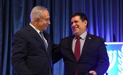 HOY / Primer ministro Netanyahu felicita a Cartes por su cumpleaños