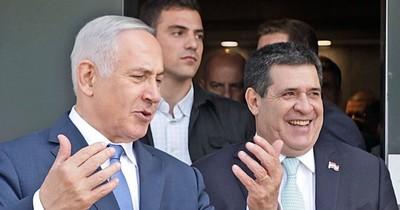 Primer ministro de Israel saluda a Horacio Cartes por su cumpleaños