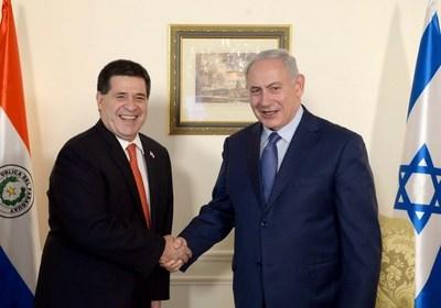 Primer ministro de Israel, Benjamin Netanyahu, congratuló a Horacio Cartes