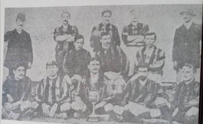 HOY / El primer partido oficial del fútbol paraguayo