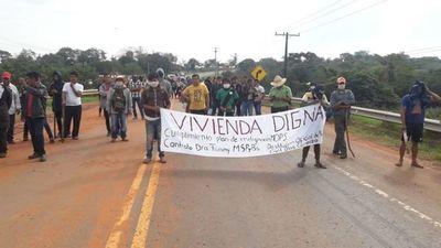 Indígenas dan tregua hasta el viernes, tras fracaso de reunión con el Gobierno