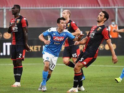 Lozano da el triunfo al Napoli