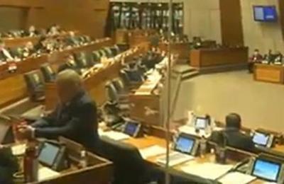 Realizan interpelación a Luis Villordo, Pdte. de la ANDE, en el Congreso Nacional