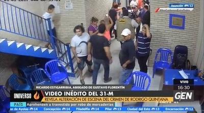 HOY / Supuesta alteración de la escena del crimen de Rodrigo Quintana