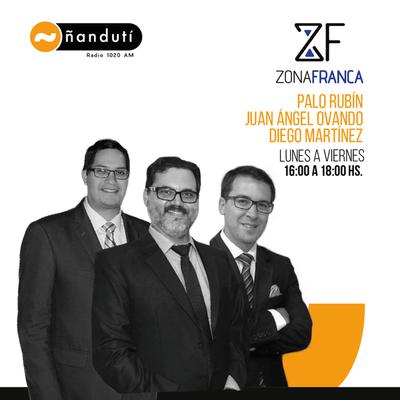 Zona Franca con Palo Rubin, Marcelo Martín Orué y Diego Martínez