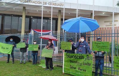 OTEP-SN Caaguazú exige condiciones para que educación llege a todos